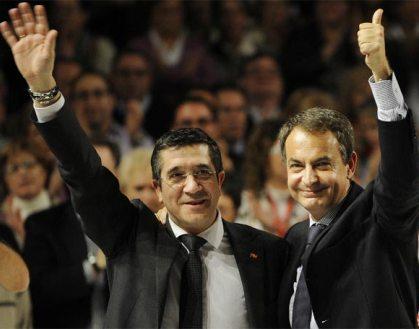 Campaña Partido Socialista de Euskadi - Euzkadiko Ezkerra (PSE-EE) 20110308092213-20110306155009-zapatero-patxi-lopez-mitin-bilbao-1-1-